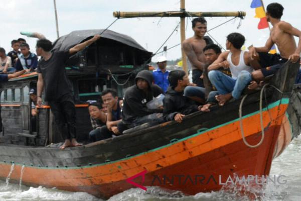 Hasil tangkapan nelayan Lampung Timur turun
