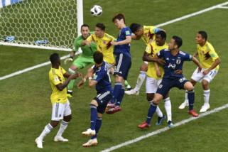 jepang hajar Kolombia 2-1 di penyisian grup