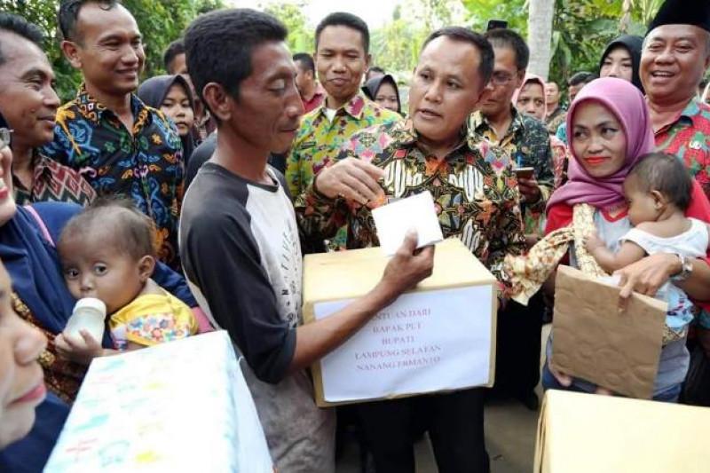 Plt Bupati Lampung Selatan Kunjungi Kembar Rana-Rani