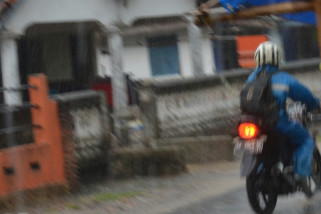 Hujan lebat guyur sejumlah wilayah Lampung Timur