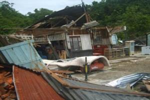 Puluhan rumah di Majene diterjang puting beliung