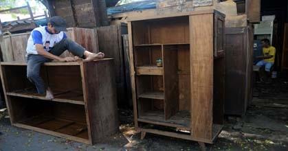 Perabotan Bekas Dijual Lemari Bekas Untuk Dijual