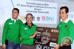 Unhas Terima Afinity Card BNI