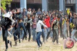 Tawuran Mahasiswa Kembali Terjadi di Unhas