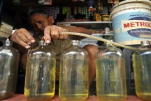 Harga Bensin Eceran Di Gorontalo Utara Melambung