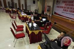 Pendaftaran Caleg di KPU Sulbar Masih Sepi