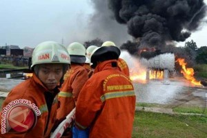 Bupati Polman usulkan pemadam kebakaran gabung BPBD