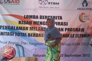 Kesadaran STBM Warga Tallo Dituangkan Dalam Cerita