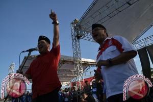 Kampanye Pasangan Irman-Busrah Singgung Kandidat Lain