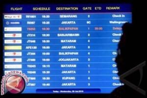 Aktivitas penerbangan Sulbar naik 12,94 persen