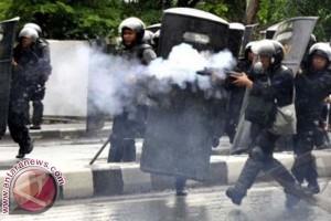 Demo Anti Korupsi di Makassar Diwarnai Kericuhan