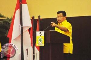 Pemilu - Ketua Golkar Sulbar Kampanye Gunakan Helikopter