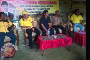 Ketua DPRD Bantu Pengadaan Air Bersih Tommo