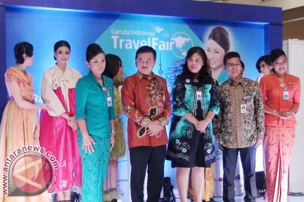 Garuda Gandeng 19 Travel pada Travel Fair