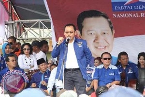 DPP Demokrat memberikan restu SDK calon gubernur