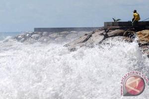 Dua Pulau di Makassar Terancam Abrasi