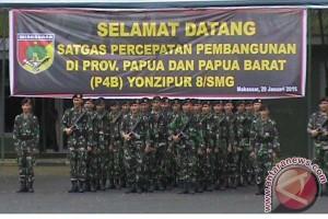 Yonzipur 8/SMG Bantu Percepatan Pembangunan Papua