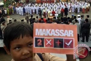 Pelantikan Pejabat Makassar Di Pelabuhan Paotere Lancar
