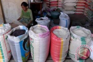 Harga beras di Polman alami kenaikan