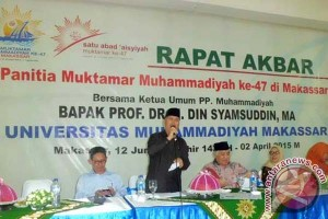 Muktamar Muhammadiyah di Makassar bahas enam agenda