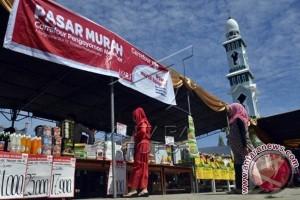BPJS Ketenagakerjaan Kendari Gelar Pasar Murah Sembako