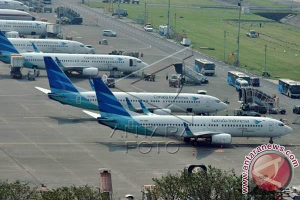 Garuda: Jumlah penumpang ke Makassar belum melonjak