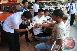 Posko Mudik Bantaeng beri layanan kesehatan gratis