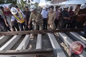 Rel Trans Sulawesi Mandai-Palanro rampung 2019
