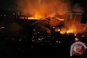 Kebakaran kembali terjadi di Makassar