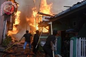 Kebakaran Cakalang Makassar hanguskan 67 rumah