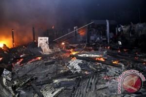 Pemukiman padat penduduk di Matra terbakar