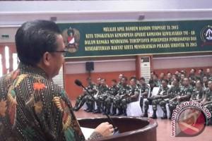 Nurdin Abdullah bagi ilmu bersama 390 Perwira TNI