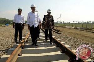 Gubernur : Proyek Kereta Api Sulsel masih berlanjut