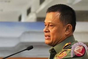 Panglima TNI kunjungi lokasi jatuhnya helikopter