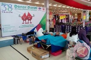 BPJS Ketenagakerjaan Kanwil Sulama gelar donor darah