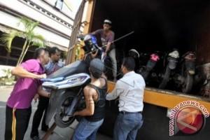 Polrestabes Makassar sita 27 motor balapan liar