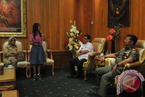 Kontestan primadona dangdut minta dukungan Gubernur Sulsel