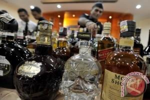 Satpol-PP kembali sita puluhan kardus minuman beralkohol