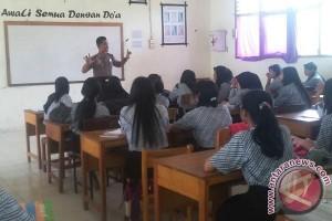 """Unicef dukung """"gerakan kembali bersekolah"""" Polres Mamuju"""