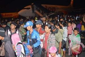 Tujuh mantan anggota Gafatar tiba di Makassar