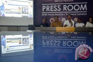 Nasdem Sulsel luncurkan portal hadapi Pemilu 2019