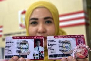 Disdukcapil Makassar  cetak 15 ribu kartu anak