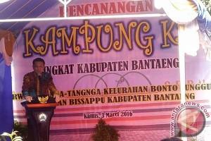 Bantaeng canangan Kampung KB di Tangnga-Tangnga