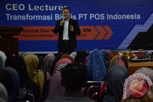 Kepala Pos Indonesia motivasi mahasiswa STIE Nobel