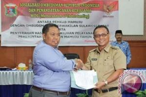 Ombudsman-Pemkab Mamuju sepakat tingkatkan layanan publik