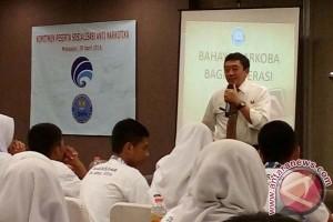 Kemkominfo-BNN sosialisasi antinarkoba kepada siswa