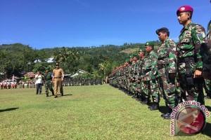 Tentara bangun delapan kecamatan di Gowa