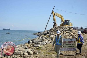 Progres pembangunan Makassar New Port 27 persen