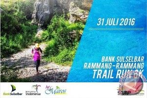 Warga antusias ikuti Bank Sulselbar Rammang Rammang Trail Fun