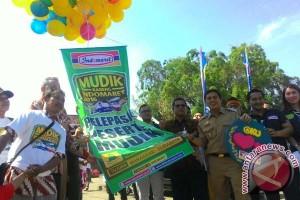 Wawali Makassar lepas peserta mudik gratis Indomaret